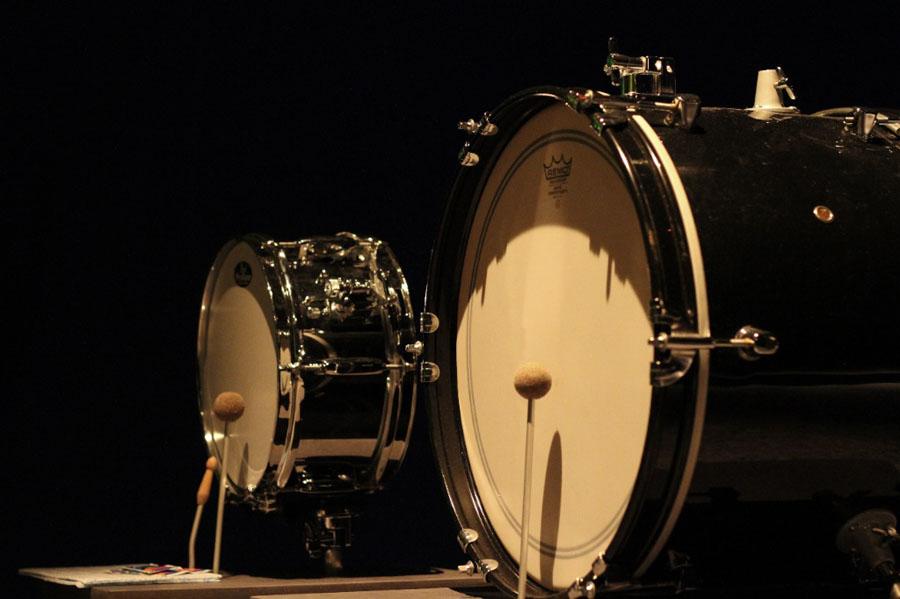 Snare- und Base-Drum während der SEP 2011
